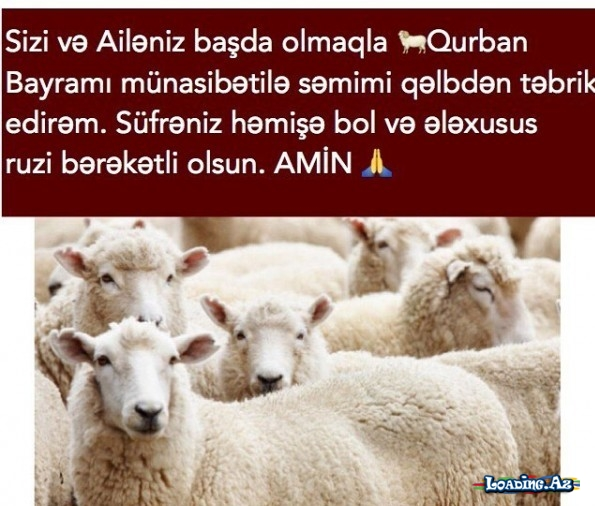 Qurban Bayrami Sekilleri